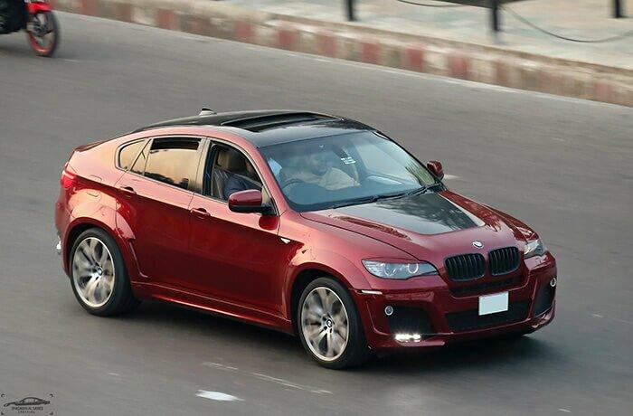 BMW X6 характеристики